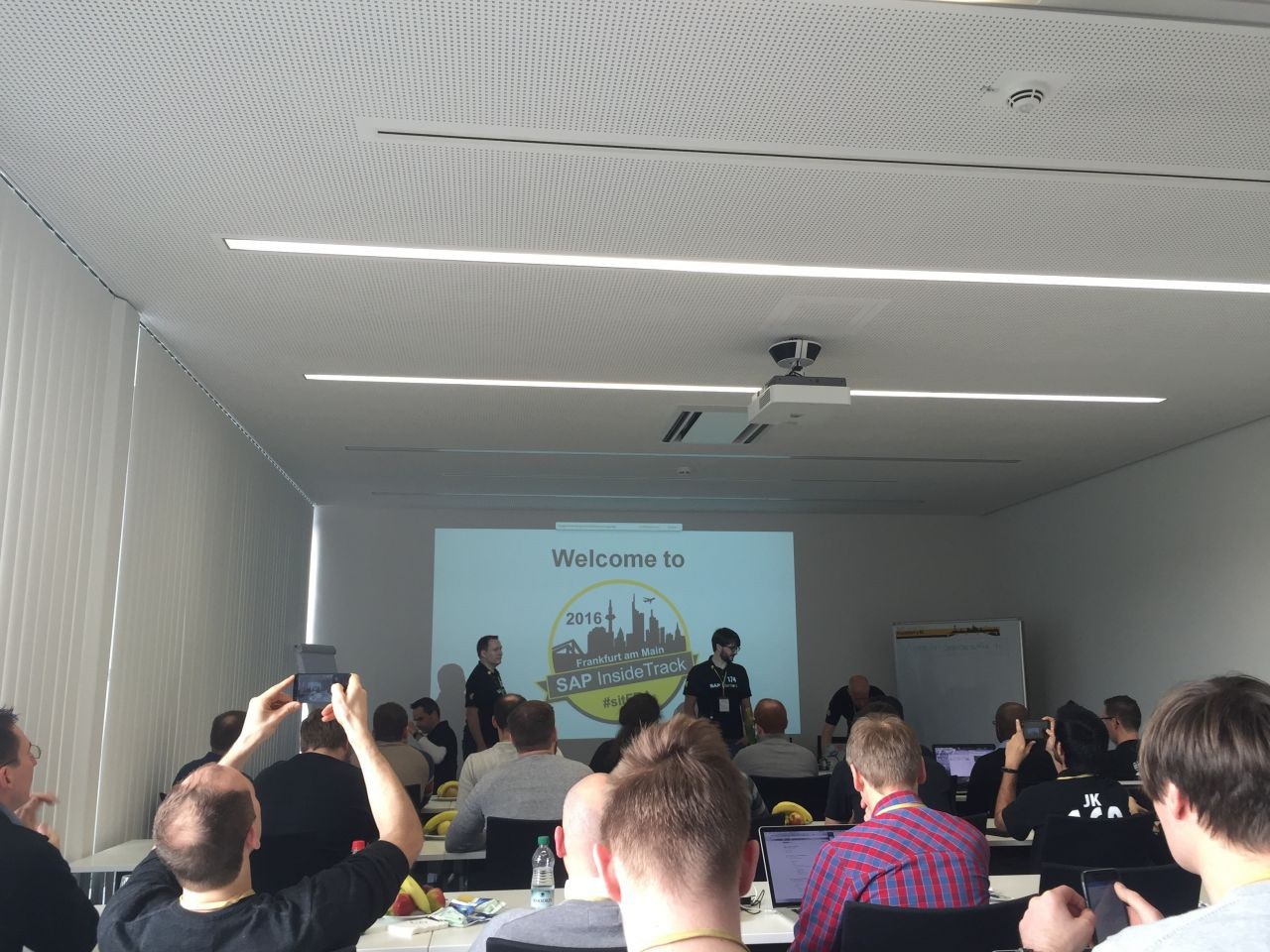 SAP Inside Track in Frankfurt 2016